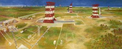 Bernard Perlin The Countdown at Canaveral