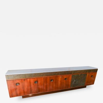 Bernardo Figueiredo Bernardo Figueiredo Long Brazilian Rosewood Sideboard Dry Bar
