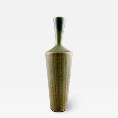 Berndt Friberg Berndt Friberg Studio hand art pottery vase with a narrow neck