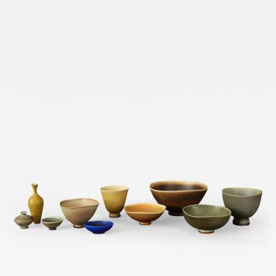 Berndt Friberg Collection of Vessels
