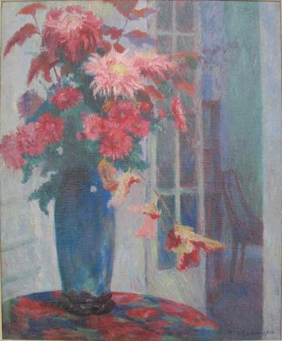 Bernhard Gutmann Flower Piece