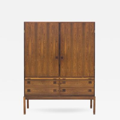 Bernhard Pedersen Son Linen Press in Rosewood