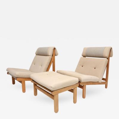 Bernt Petersen Pair of Bernt Petersen A Frame Chairs