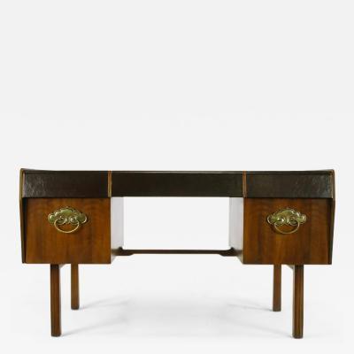Bert England Bert England Persian Walnut and Leather Desk