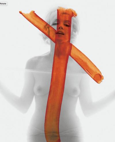 Bert Stern Crucifix