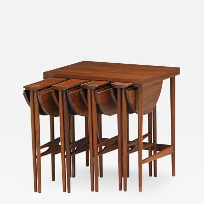 Bertha Schaefer Bertha Schaefer for Singer and Sons Nesting Tables