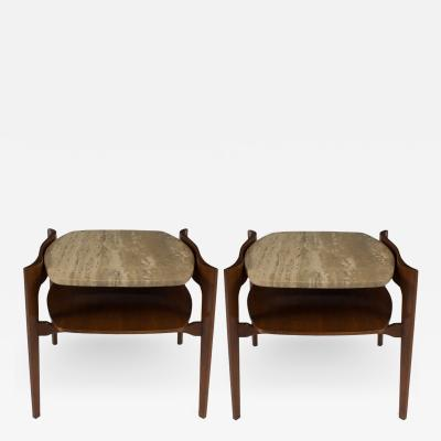 Bertha Schaefer Pair of Bertha Schaefer End Tables