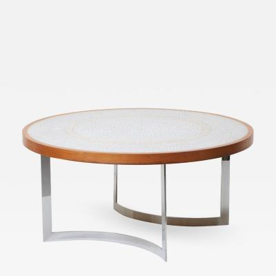 Berthold Muller Huge Mosaic Coffee Table by Berthold M ller Germany 1967
