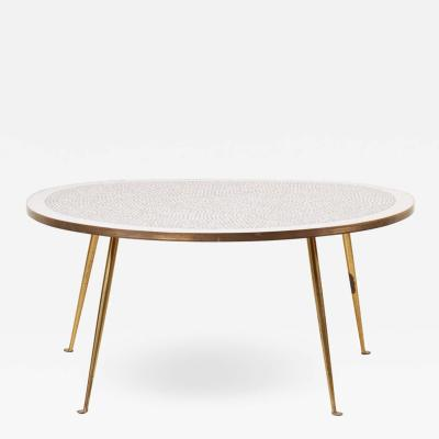 Berthold Muller Weird Shaped Mosaic Coffee Table by Berthold M ller Germany