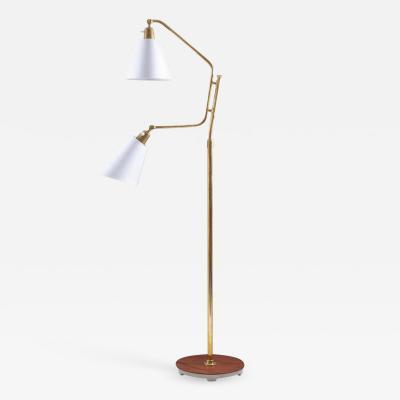 Bertil Brisborg Scandinavian Midcentury Floor Lamp by Bertil Brisborg for NK