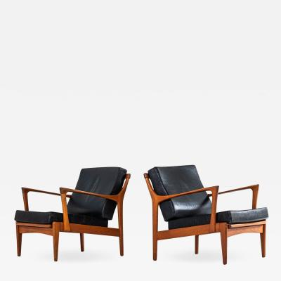 Bertil Fridhagen Bertil Fridhagen Easy Chairs Model Kuba Produced by Br derna Andersson