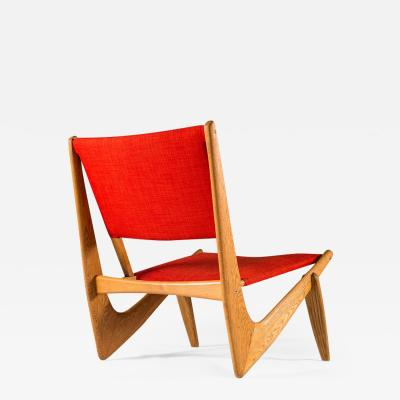 Bertil V Behrman Scandinavian Easy Chair Model 233 by Bertil V Behrman