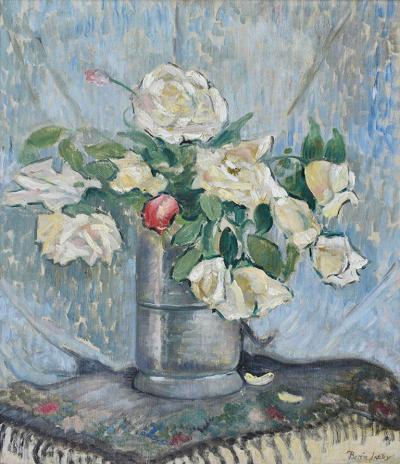Bessie Mona Lasky Early Spring Bouquet c 1945