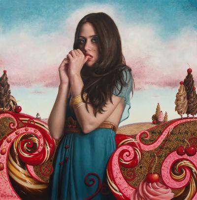 Beth Sistrunk Cherries on TOp