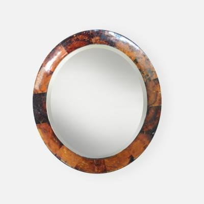 Beveled Mirror with Resin Frame