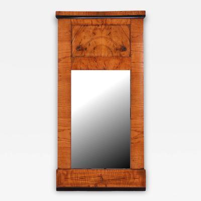 Biedermeier Ash Mirror c 1820
