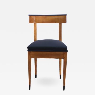 Biedermeier Chair Cherry Solid Wood West Germany circa 1820