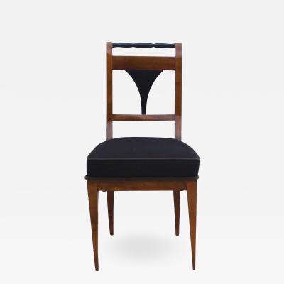 Biedermeier Chair Cherry Veneer South Germany circa 1830