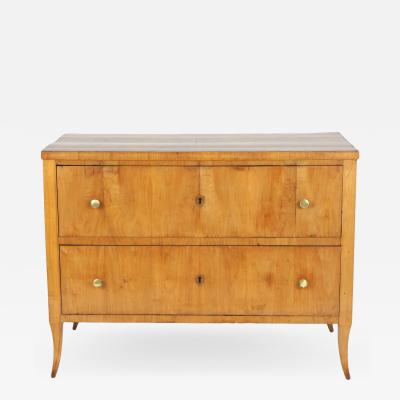 Biedermeier Cherry Chest of Drawers c 1810