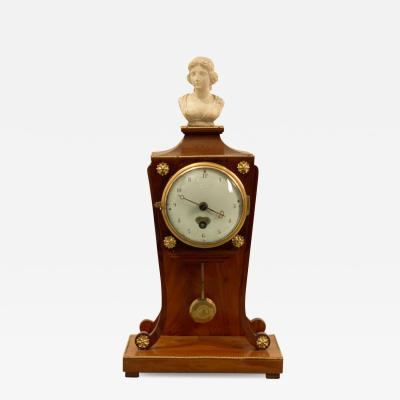 Biedermeier Clock Austria 19th Century