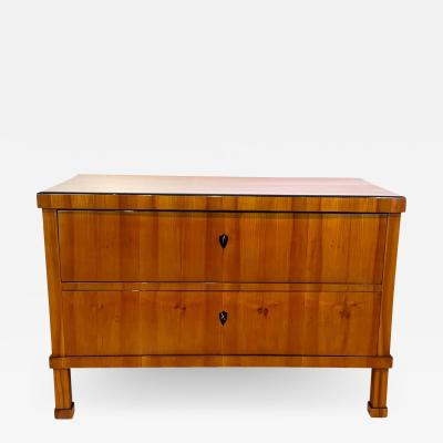 Biedermeier Commode Cherry Veneer South Germany circa 1820