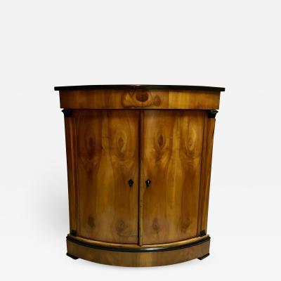 Biedermeier Corner Cabinet Munich 1820