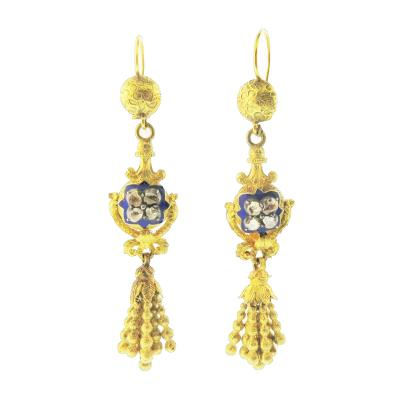 Biedermeier Earrings