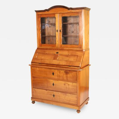 Biedermeier Fruit Wood Secretary
