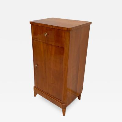 Biedermeier Nightstand Bedside Table Cherry Veneer South Germany circa 1820