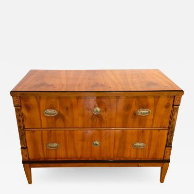 Biedermeier Saloon Commode Cherry with Inlays South Germany circa 1820