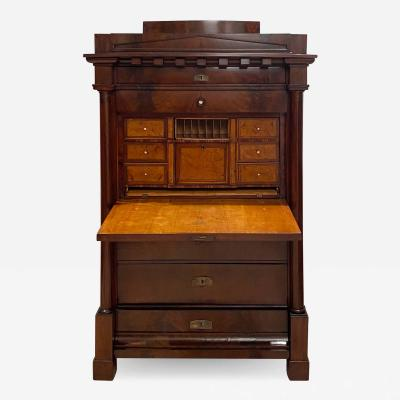 Biedermeier Secretary Desk Germany circa 1830