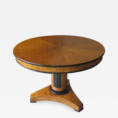 Biedermeier Table Denmark 1830