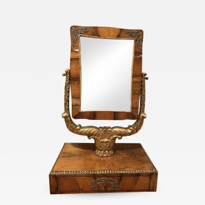Biedermeier Table Mirror Germany 1820