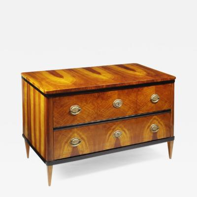Biedermeier Two Drawer Commode