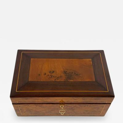 Biedermeier box from Vienna around 1840