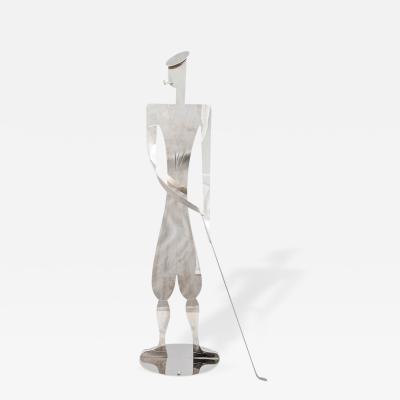 Big Golfer Figurine Werkstatte Hagenauer Wien