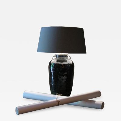 Big ceramique Vase lamp