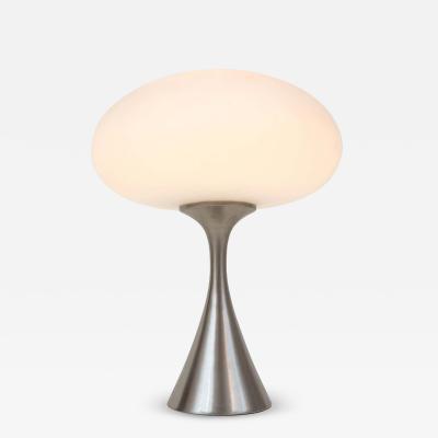 Bill Curry Mid Century Modern Laurel Mushroom Shade Table Lamp by Bill Curry