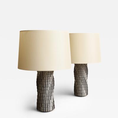 Bill Hudnut Spiral 16 Pair of Cube Lamps 2017