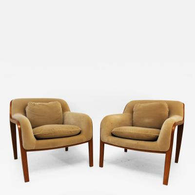Bill Stephens Pair of Knoll Lounge Chairs by Bill Stephens