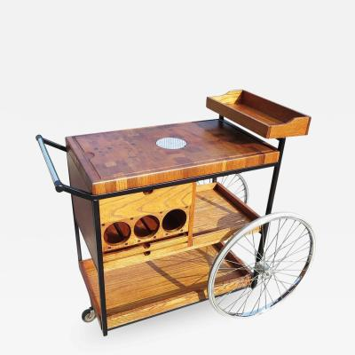 Bill W Sanders Bill W Sanders 1964 Rolling Bar Cart or Trolley