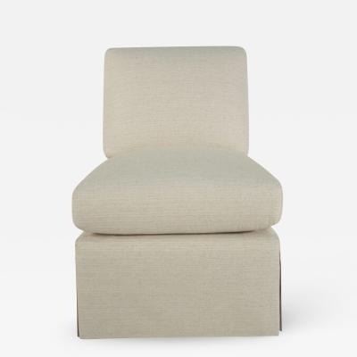 Billy Baldwin Slipper Chair Inspired by a Billy Baldwin Slipper Chair