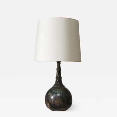 Bj rn Wiinblad Table lamp with impressed texture by Bj rn Wiinblad