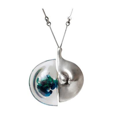 Bjorn Weckstrom Bjorn Weckstrom Acrylic and Silver Necklace