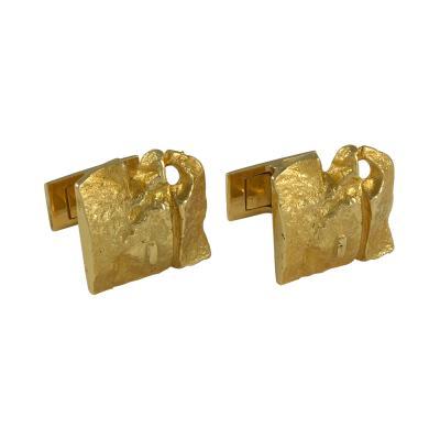 Bjorn Weckstrom Bjorn Weckstrom Gold Cufflinks for Lapponia