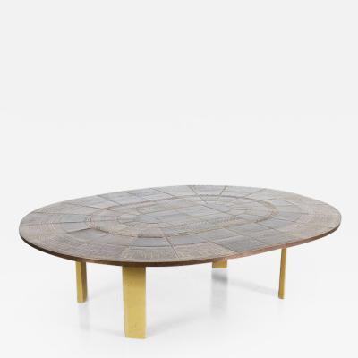 Bjorn Wiinblad 1960s Large Bjorn Wiinblad Ceramic Coffee Table