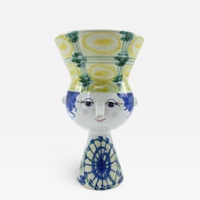 Bjorn Wiinblad Bj rn Wiinblad Bjorn Wiinblad Signed Ceramic Vase 1972