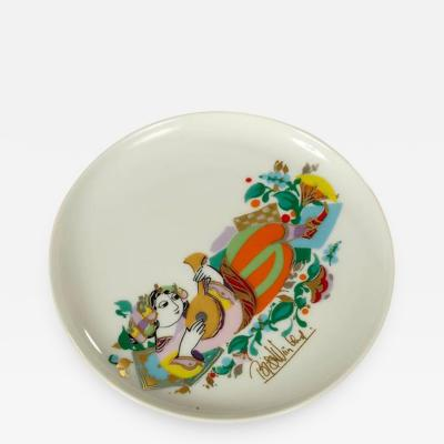 Bjorn Wiinblad Rosenthal Porcelain Plate by Bj rn Wiinblad The Thousand and One Night Series