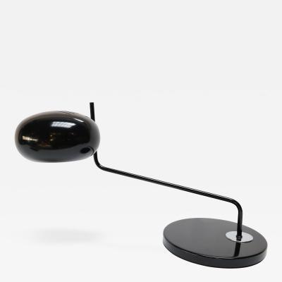 Black 1960s Metal Desk or Table Lamp