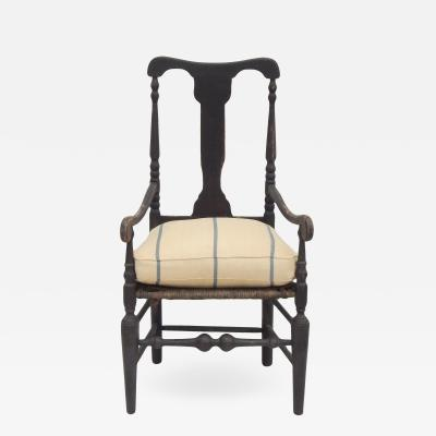 Black Hudson River Armchair